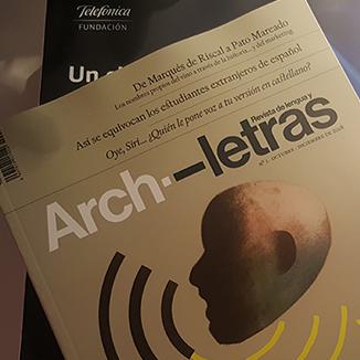 Nace Archiletras, un medio de comunicación en torno a la lengua española