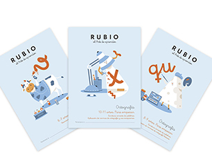 Cuadernos Rubio apuesta por la ortografía escolar