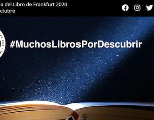 España muestra su diversidad literaria en Feria del Libro de Frankfurt 2020